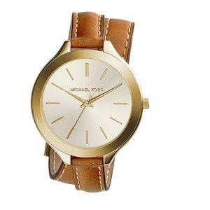 Michael Kors Runway Brown Watch MK 2256